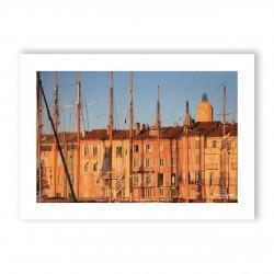 Affiche A3 papier 350g Visuel N°4 Voiles de Saint-Tropez